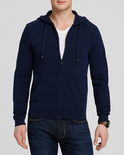 Terry Zip Hoodie by Michael Kors in Suits