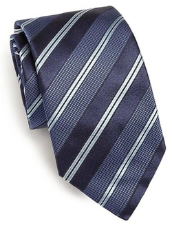 Textured Striped Tie by Eton Of Sweden in Scandal