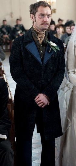 Custom Made Wedding Suit by Jenny Beavan (Costume Designer) in Sherlock Holmes: A Game of Shadows