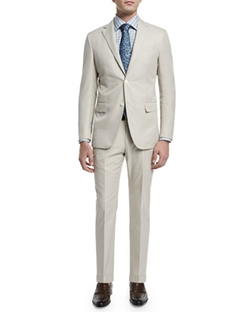 Two-Piece Cotton Suit by Ermenegildo Zegna in Ballers