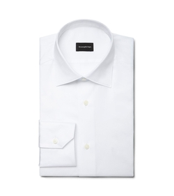 White Point Collar Shirt by Ermenegildo Zegna in Suits