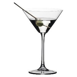 Vivant Martini Glasses by Riedel in Get Hard