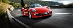 911 Cabriolet by Porsche in We're the Millers