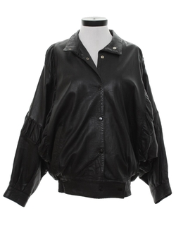Dolman Sleeve Leather Jacket by Care Label in Grease