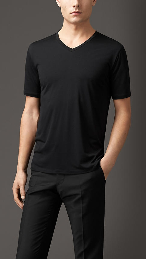 Technical Modal Blend Shirt by Burberry in Ballers