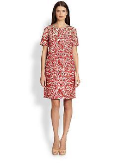 Favola Short-Sleeve Shift Dress by MaxMara in Transcendence