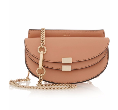 Georgia Convertible Leather Belt Bag by Chloé in Keeping Up With The Kardashians - Season 12 Episode 12