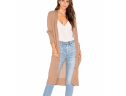 Delanna Cashmere Cardigan by 360 Sweater in Fuller House