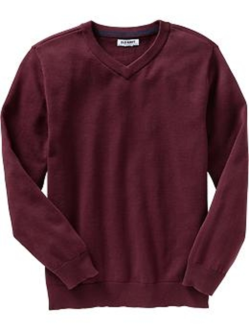 Boys Uniform V-Neck Sweaters by Old Navy in Before I Wake