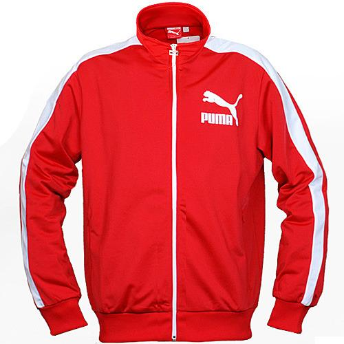 Men's Heroes T7 Track Jacket by PUMA in Blended