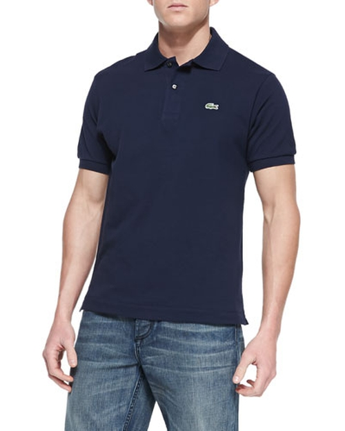 Classic Pique Polo Shirt by Lacoste in Spotlight