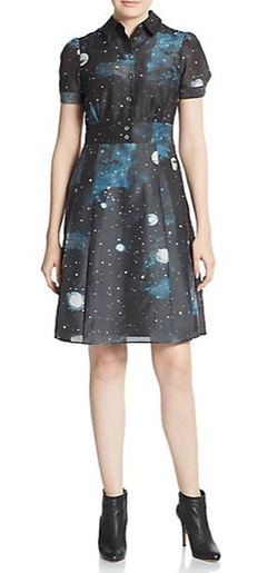 Stargazer A-Line Shirtdress by Marc By Marc Jacobs in Vinyl