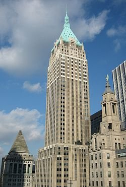New York City, New York by 40 Wall Street - The Trump Building in Top Five