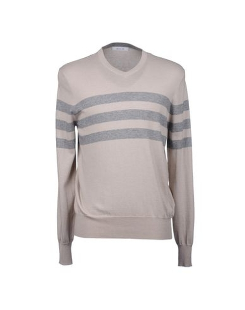 Lightweight V-Neck Sweater by Allude in American Pie
