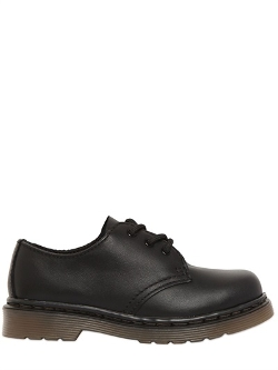 Leather Derby Lace-Up Shoes by Dr.Martens in Before I Wake