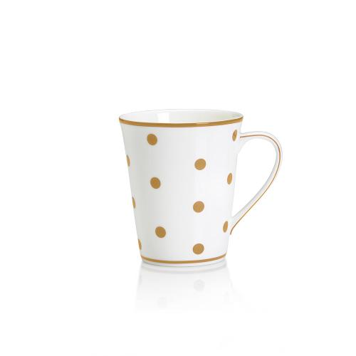 Color Studio Khaki Dots Mug by Mikasa in Laggies