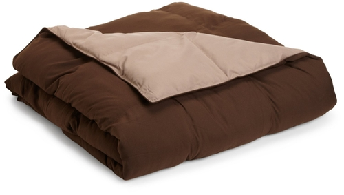 All Season Down Alternative Queen Reversible Comforter by Grand Down in Trainwreck