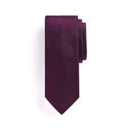 Solid Slim Tie by Brooks Brothers in The Boss