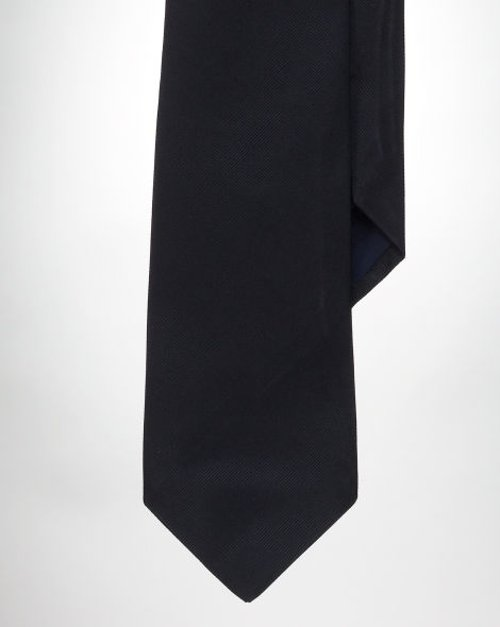 Solid Silk Repp Tie by Polo Ralph Lauren in The Gunman