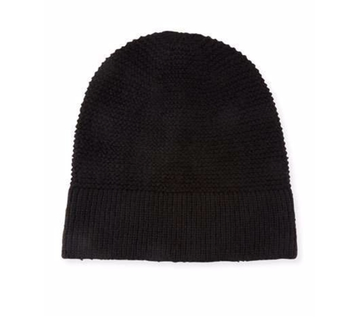 Garter-Stitched Headphone Beanie Hat by Rebecca Minkoff in The Boss