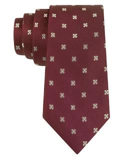 Silk Floral Print Tie by Black Brown 1826 in Lee Daniels' The Butler