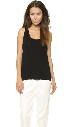 Drape Hem Tank Top by Vince in Let's Be Cops