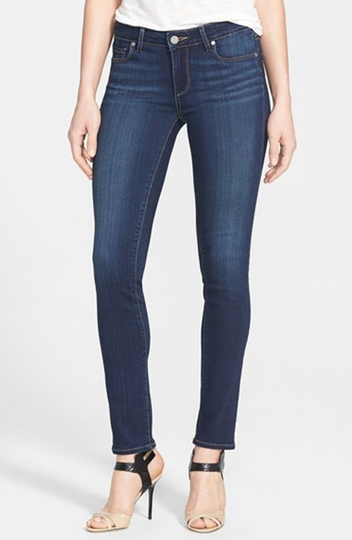 'Skyline' Skinny Jeans by Paige Denim in Rosewood