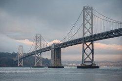 San Francisco, California by San Francisco–Oakland Bay Bridge in If I Stay