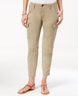 Powell Cropped Cargo Pants by Jag in Quantico