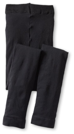 Microfiber Footless Tights by Jefferies Socks in Southpaw