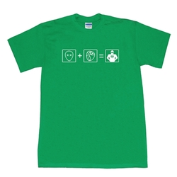 Green Lantern Equation T-Shirt by Big Bang Theory in The Big Bang Theory
