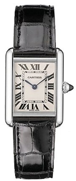 Tank Louis Ladies White Gold Watch by Cartier in The Town