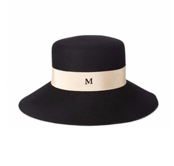 Kendall Fur Felt Hat by Maison Michel in Keeping Up With The Kardashians