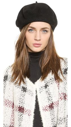 Wool Beret by Hat Attack in New Year's Eve
