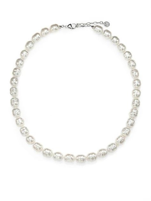 Baroque Pearl Strand Necklace by Majorica in Vacation