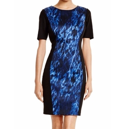 Allison Printed Dress by T Tahari in The Flash