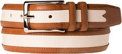 Men's Leather Belt by Mezlan in Hall Pass
