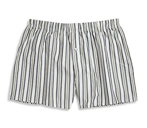 Fancy Woven Boxer Shorts by Hanro in Ashby