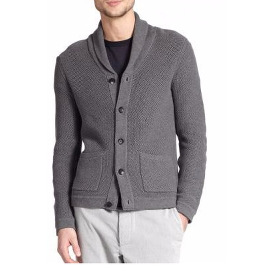 Avery Waffle-Stitch Cardigan by Rag & Bone in Keeping Up with the Joneses