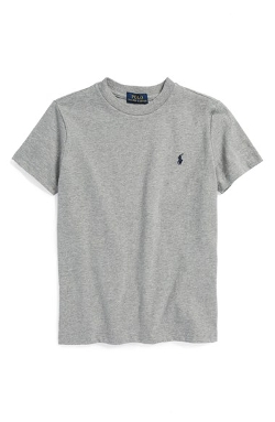 Cotton Crewneck T-Shirt by Ralph Lauren in Sinister 2