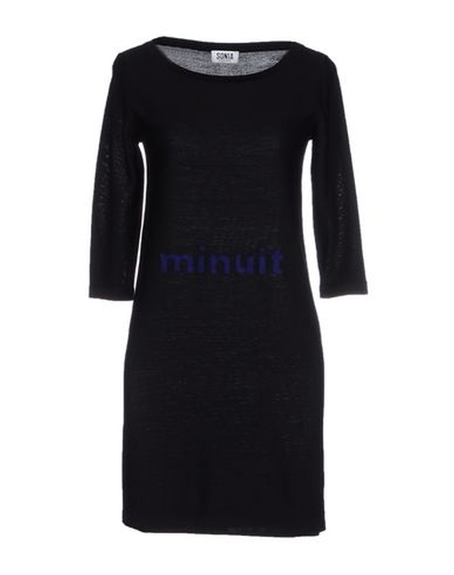 3/4 Sleeve Short Dress by Sonia By Sonia Rykiel in Sex and the City