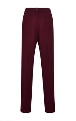 Samu Wool Georgette Trousers by Perret Schaad in Supergirl