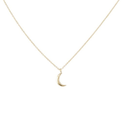 Crescent Moon Necklace by Aili in The Flash - Season 2 Episode 6