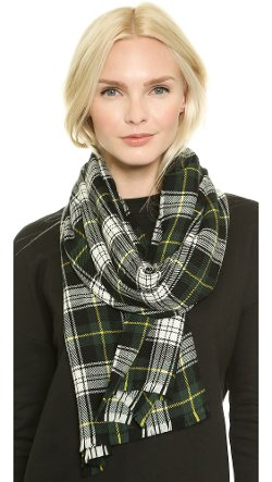 Extreme Plaid Scarf by Franco Ferrari in If I Stay