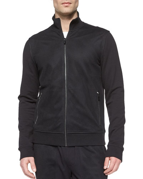 Full-Zip Cotton Track Jacket by Michael Kors in We Are Your Friends