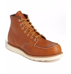 '875' Moc Toe Boots by Red Wing Shoes in Flaked