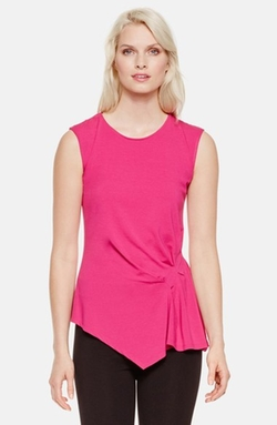 Side Pleat Asymmetrical Top by Vince Camuto in Fuller House
