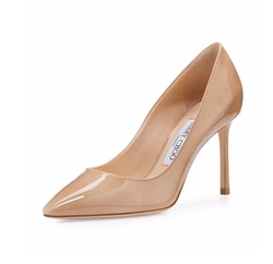 Romy Patent Pointed-Toe Pumps by Jimmy Choo in Suits