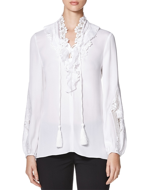Katerina Lace Silk Blouse by Kobi Halperin in Fantastic Beasts and Where to Find Them