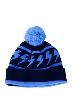 Lightning Bolt Beanie by Topshop in Neighbors